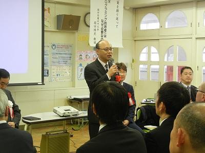 全体会 NHK大阪放送局事業部副部長祝辞