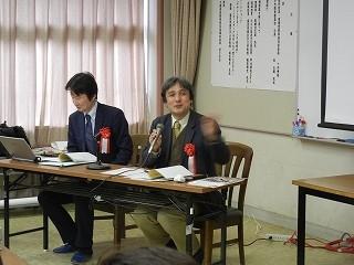 公開授業について、NHK放送文化研究所主任研究員の宇治橋祐之さんの講評