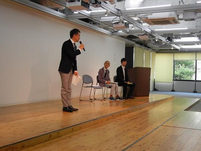 来賓あいさつ NHK大阪放送局事業部長