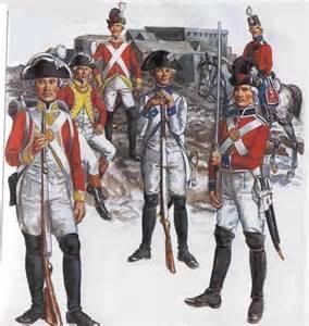 différents régiments de l'armée des émigrés