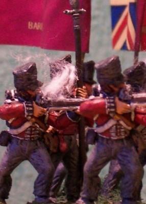 infanterie de ligne anglaise