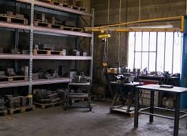 Fonderie ROCHE atelier de montage de moules