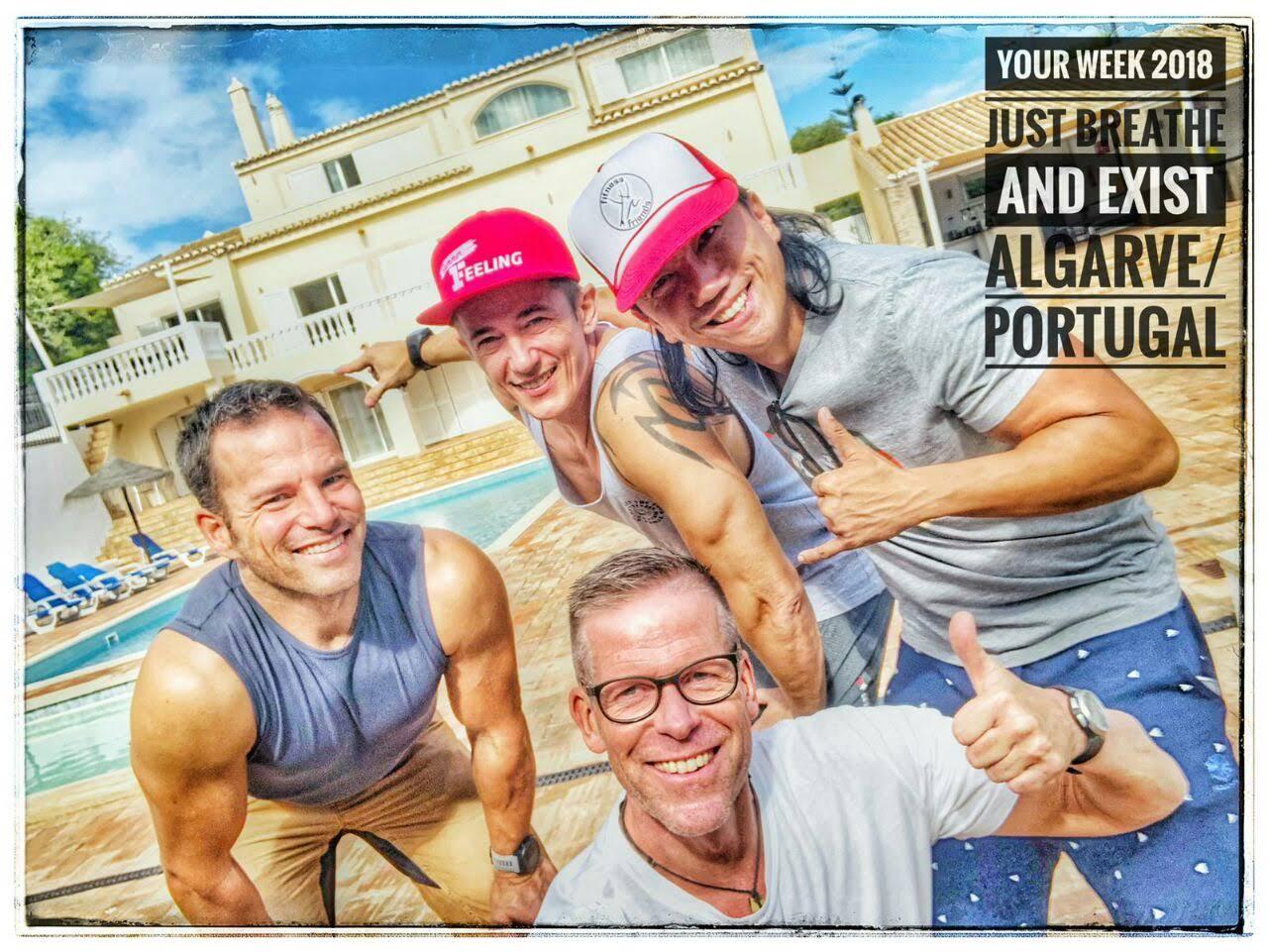 Dein Trainerteam Esben, Ivan, Michael und ich