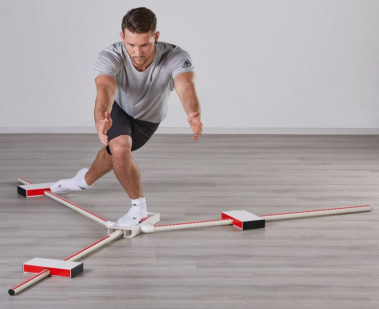 Entdeckt, trainiert, verbessert... der Y-Balance-Test deckt gnadenlos auf