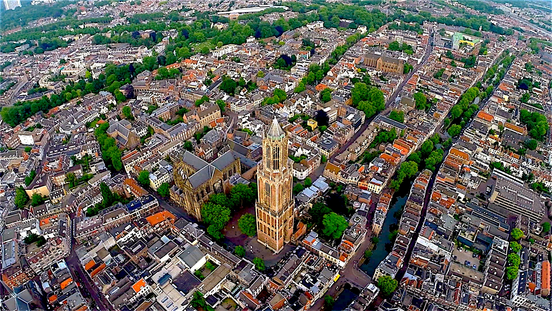 Utrecht, Dom tower, the Netherlands