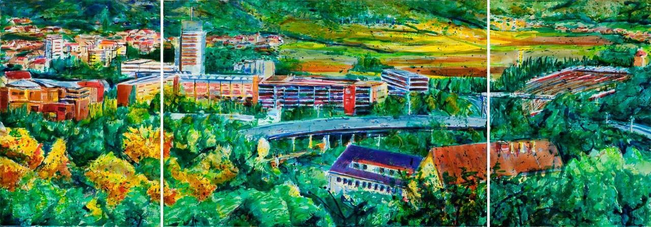 Brückenschlag, 2007 | 70x200 | Landeseigentum