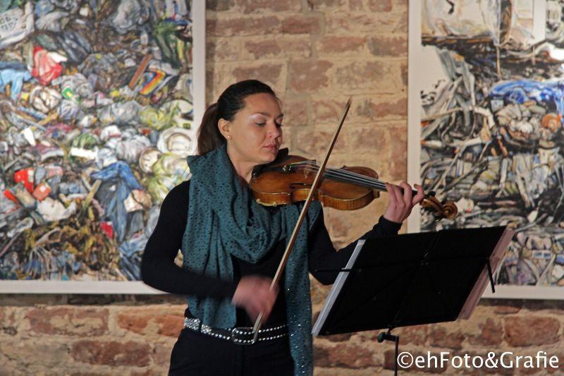 Musikalische begleitung: Anastasia Boksgorn