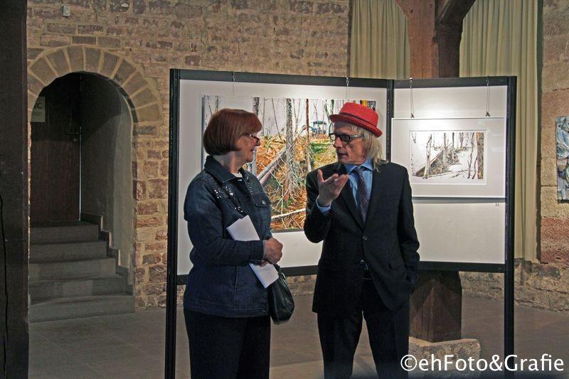 Künstlergespräch mit Stadträtin Birgit zum Winkel