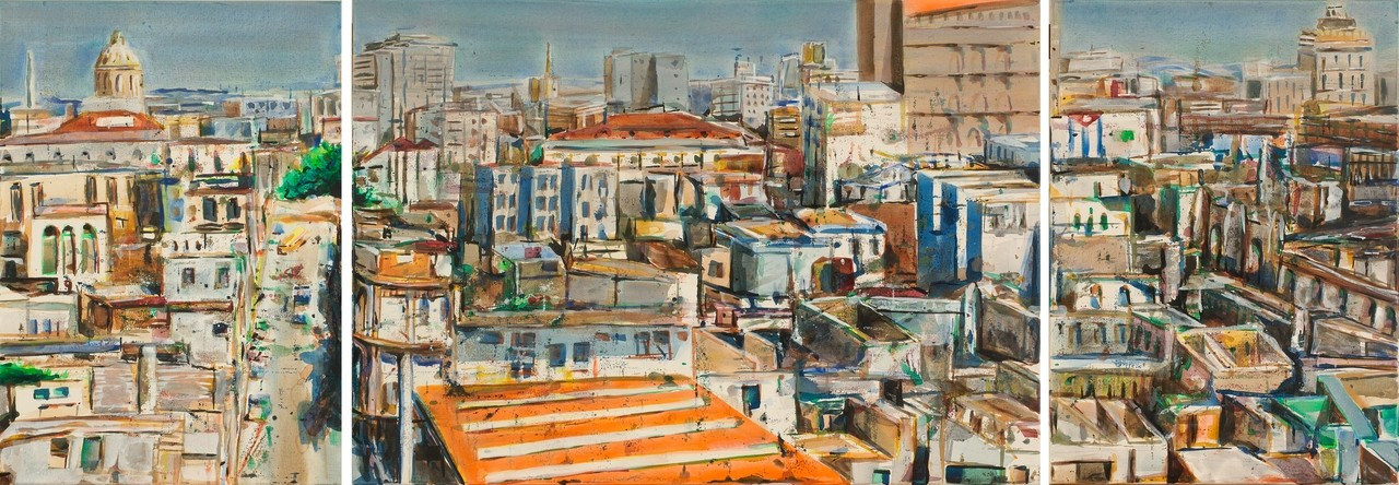 Habana al mediodia, 2006 | 70x200