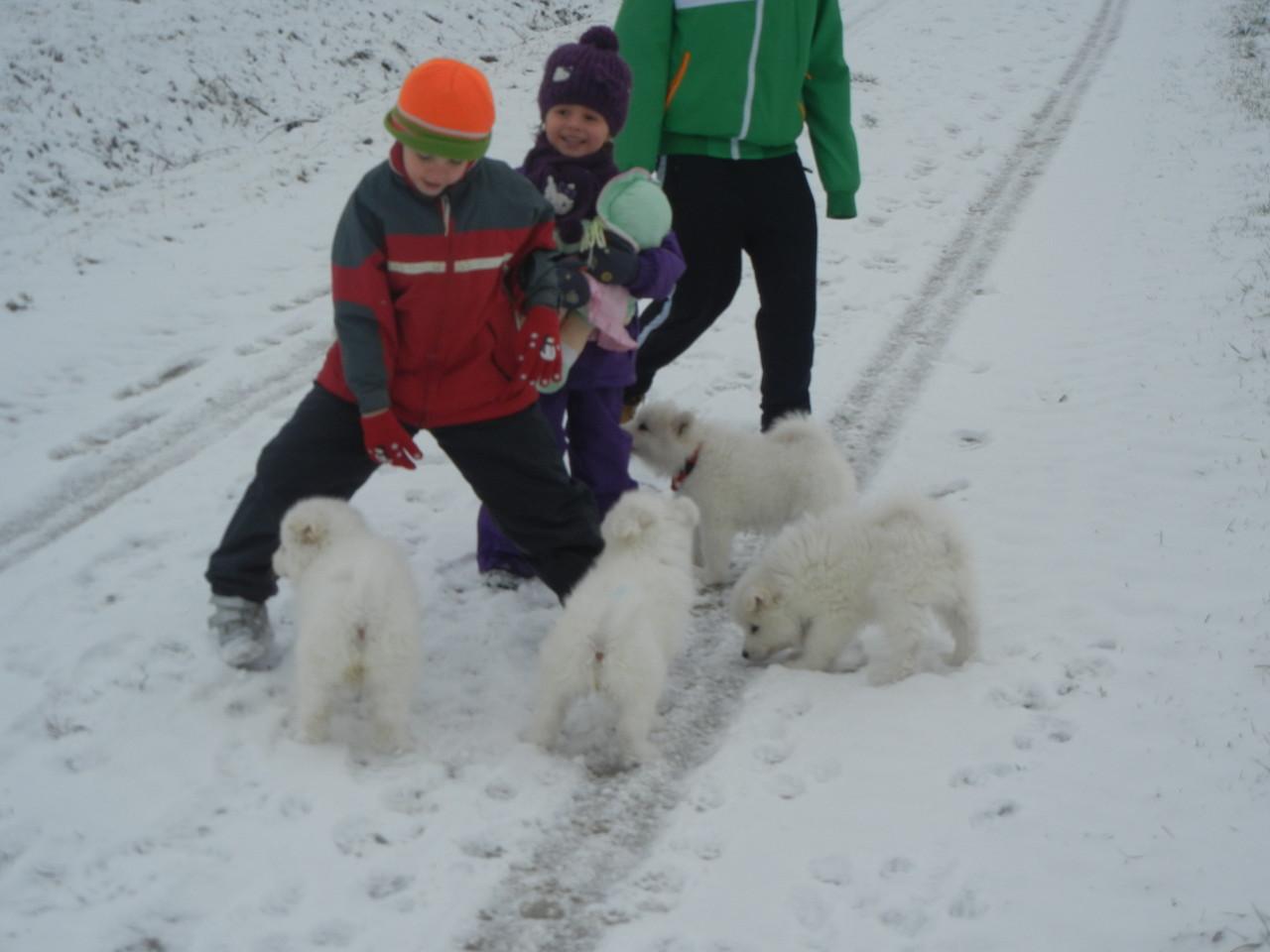 Mit den Kindern hatten wir auch viel Spaß.