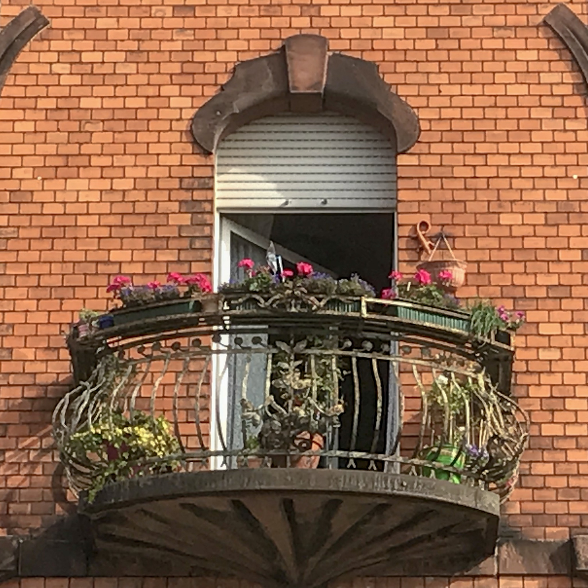 Wunderschöner Balkon in Speyer aus der vorletzten Jahrhundertwende