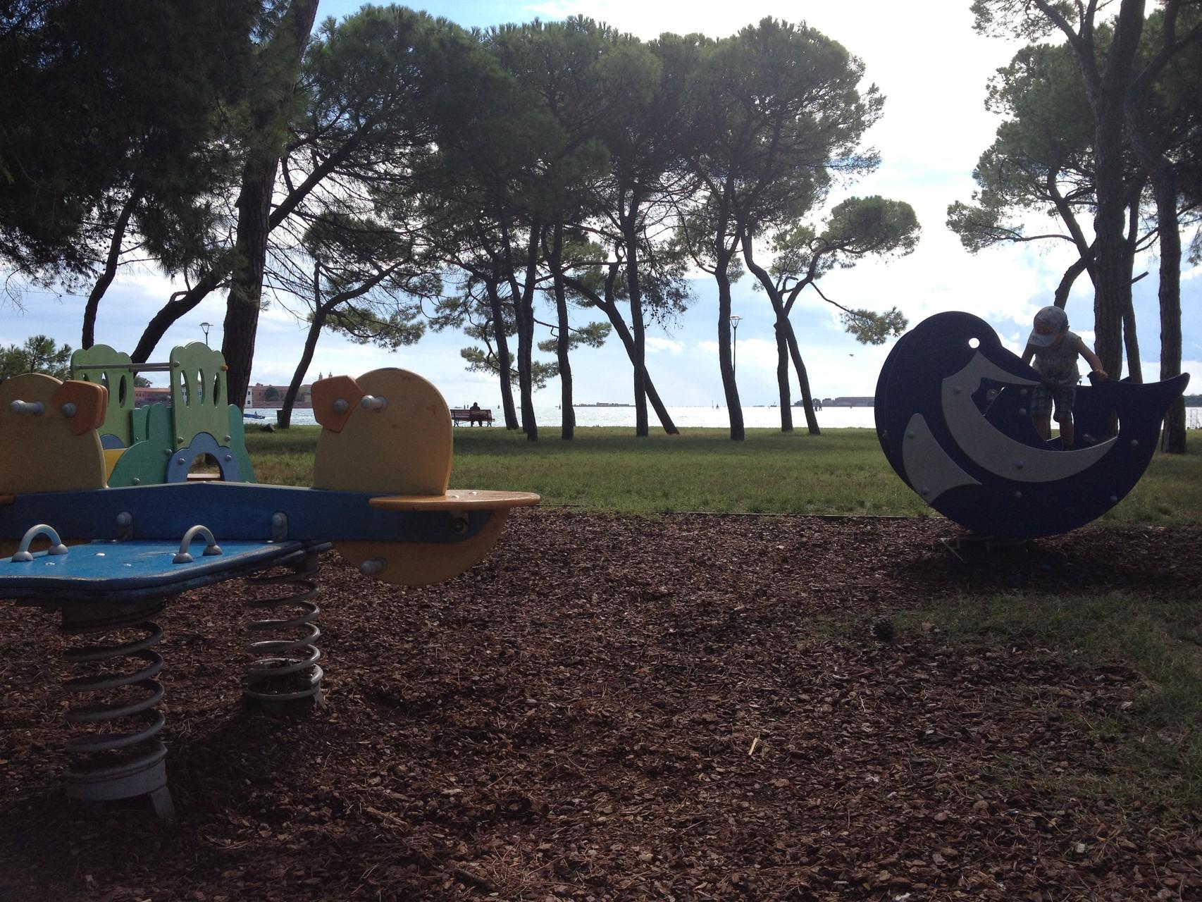 Public playground - 2 minutes walk