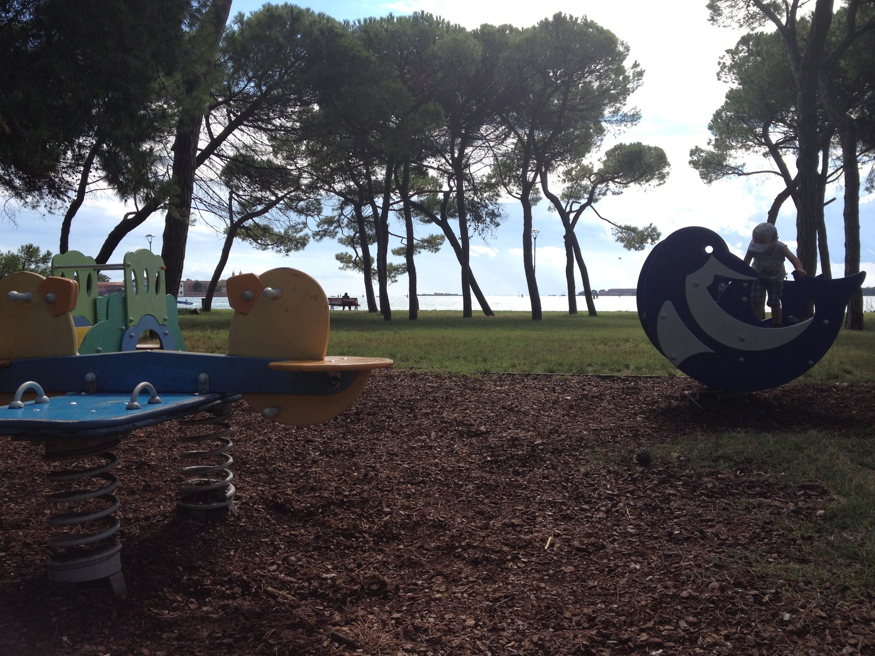 Parco giochi - 2 minuti a piedi