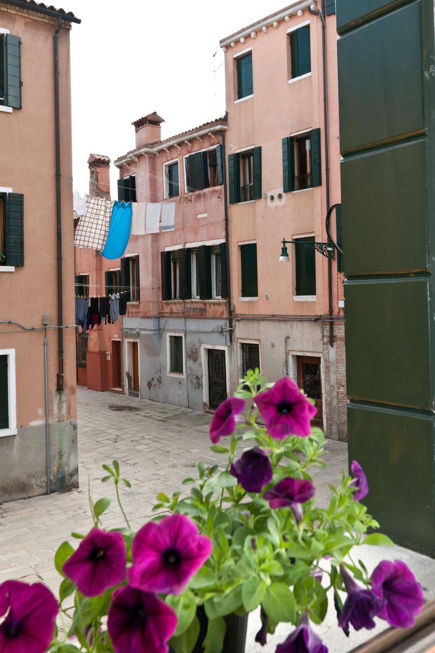 Campiello Paludo S.Antonio desde las ventanas del apartamento