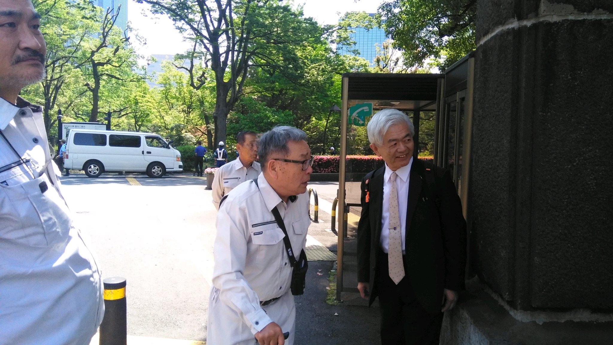 令和元年5月24日 特定失踪者問題調査会 しおかぜネットワーク代表の荒木 和博 教授から連絡あり東京に上がり久しぶりに荒木先生とお会いした。