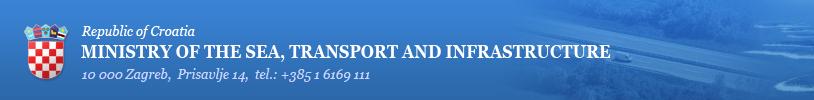 Republik Kroatien Ministerium für See, Transport und Infrastruktur kroatisches Küstenpatent