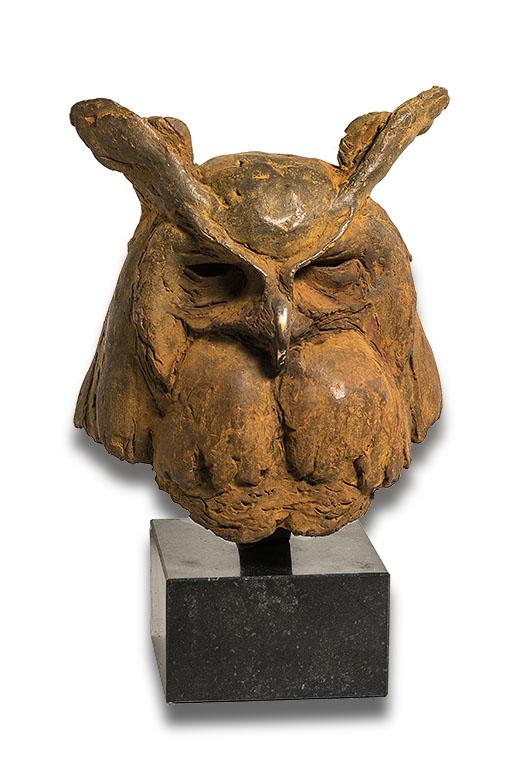 Genieten van brons. Beeld van Anthon Hoornweg.