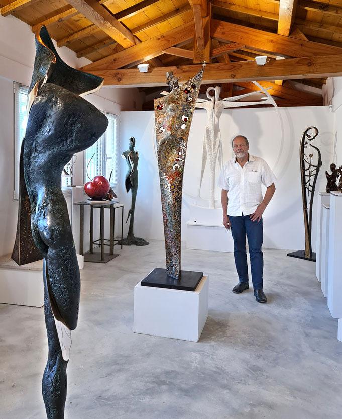 Jean-Louis Landraud bronze sculptures