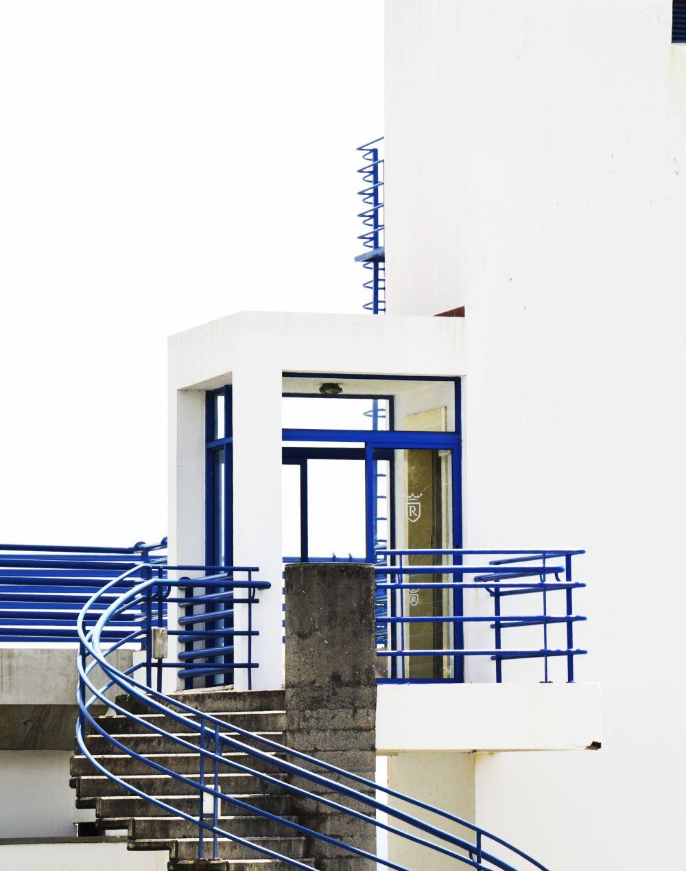 Modern building Funchal Madeira