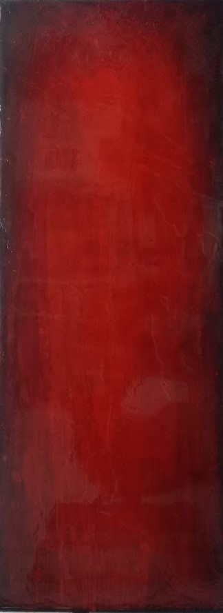 Acryl, pigments and lacquer on plexiglas, 160 x 60 cm, 4900 €