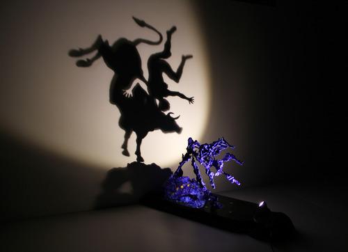 Europe. Shadow sculpture.