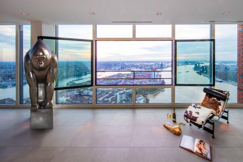 Bronze Gorilla statue