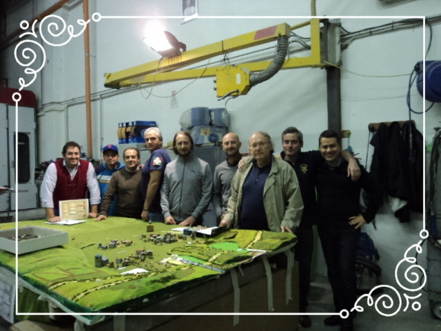 Da sinistra: Mauro Folgori, Renzo Roberti, Federico Bartelli, Fausto Cominato, Silvio Scotti, Fabio Zidaric, Antonino Di Bartolo, Stefano Plescia e Diego Chisena
