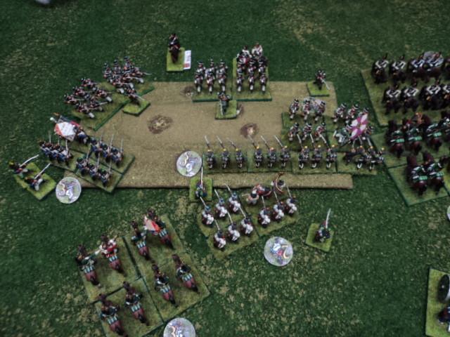 Senza il supporto dell'artiglieria e della cavalleria la fanteria russa non riesce a prevalere e la collina resta contesa