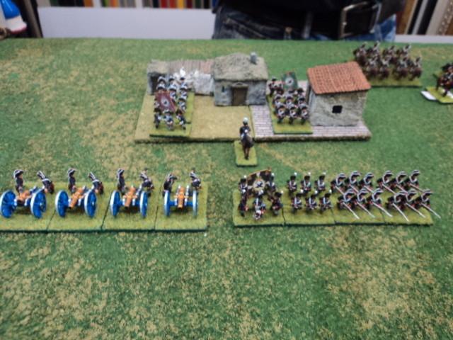 L'ala destra alleata. La Brigata di fanteria prussiana al comando di Franco