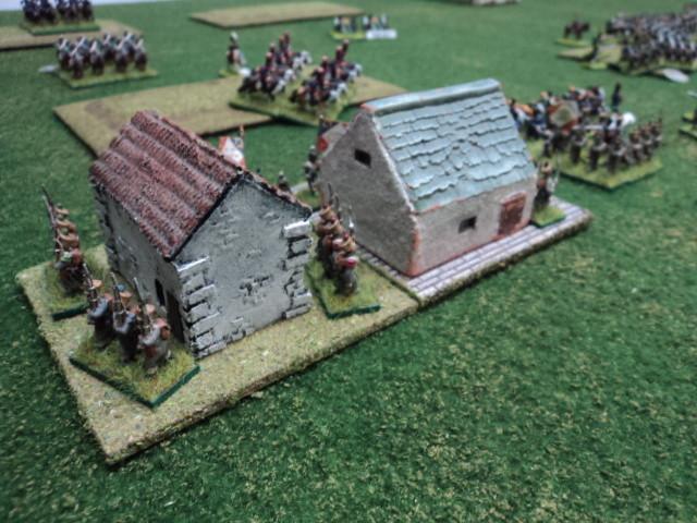 I francesi, come i russi, hanno mantenuto il controllo dell'obiettivo in difesa