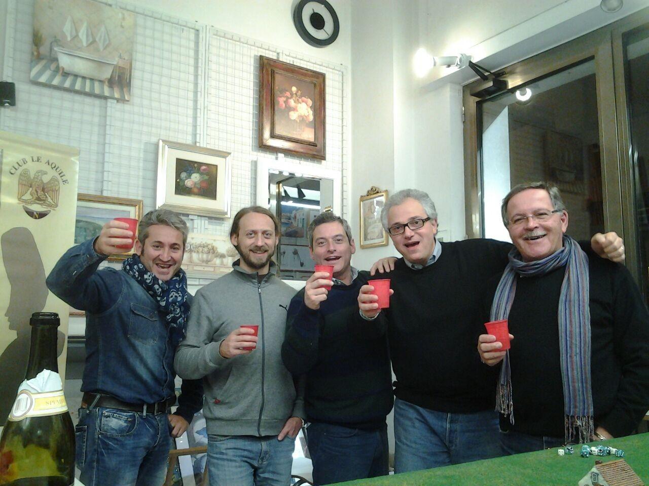 Un brindisi al nuovo anno e soprattutto a Lasalle!