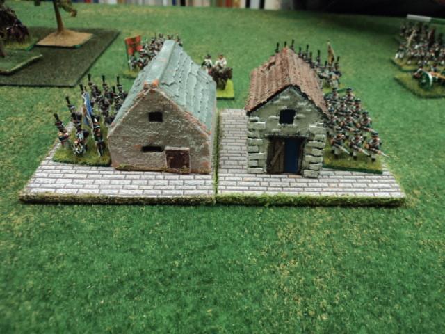 L'ala sinistra alleata. La Brigata di fanteria russa al comando di Silvio. La fanteria russa entra nel villaggio per presidiarlo (obiettivo difensivo)