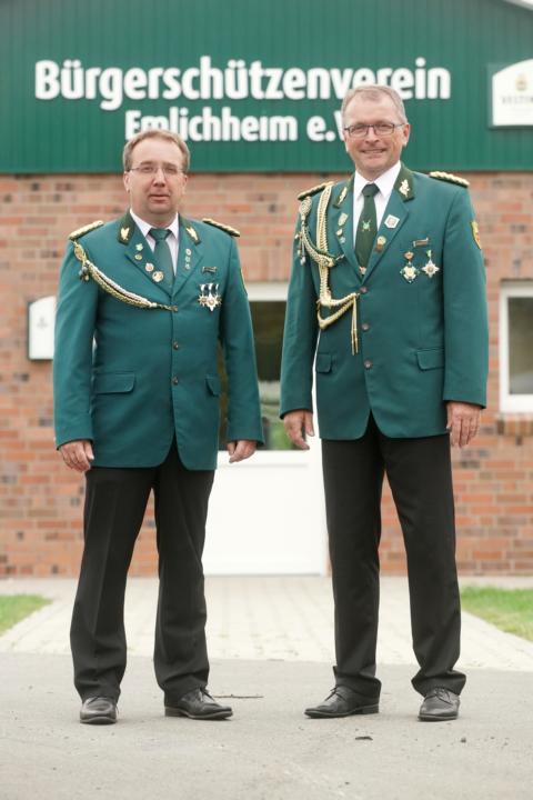 Präsident Michael Rohlfs und Vizepräsident Gerwin Kuipers (v.r.)
