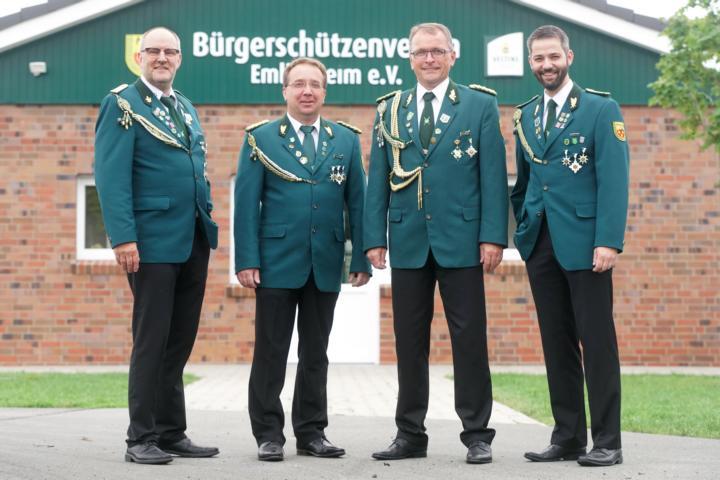 geschäftsführender Vorstand: Uli Wargers, Gerwin Kuipers, Michael Rohlfs, Christian Trüün