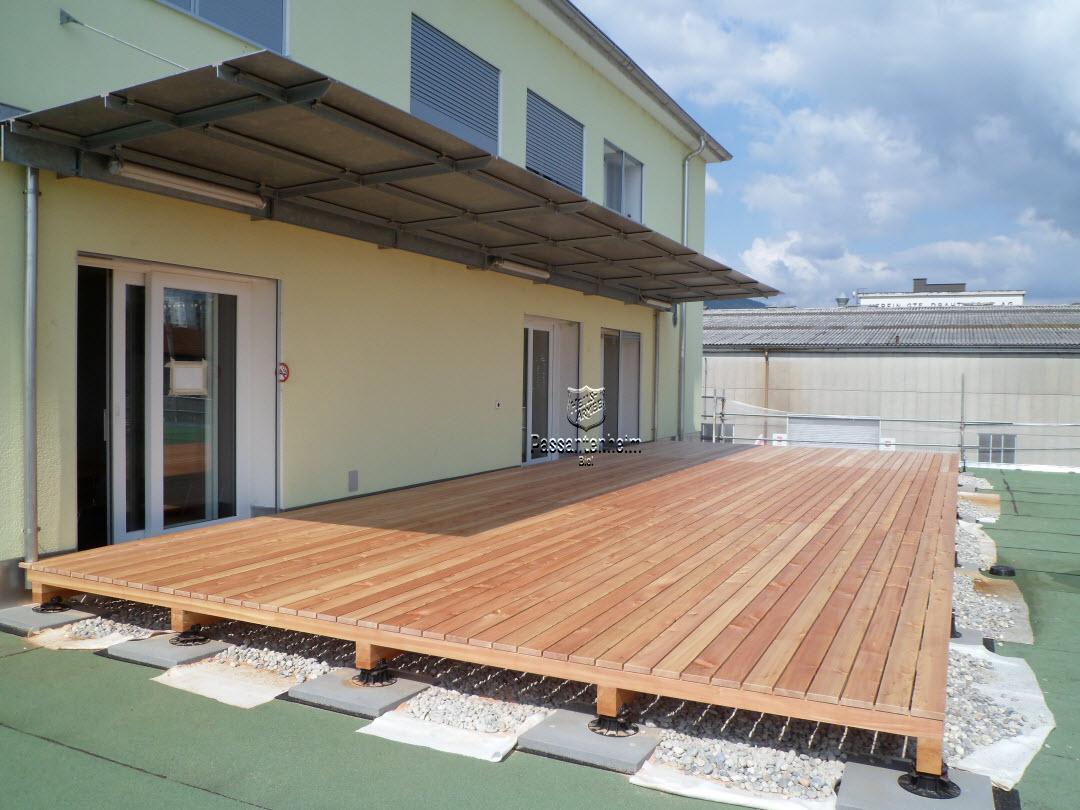 construction de notre terrasse