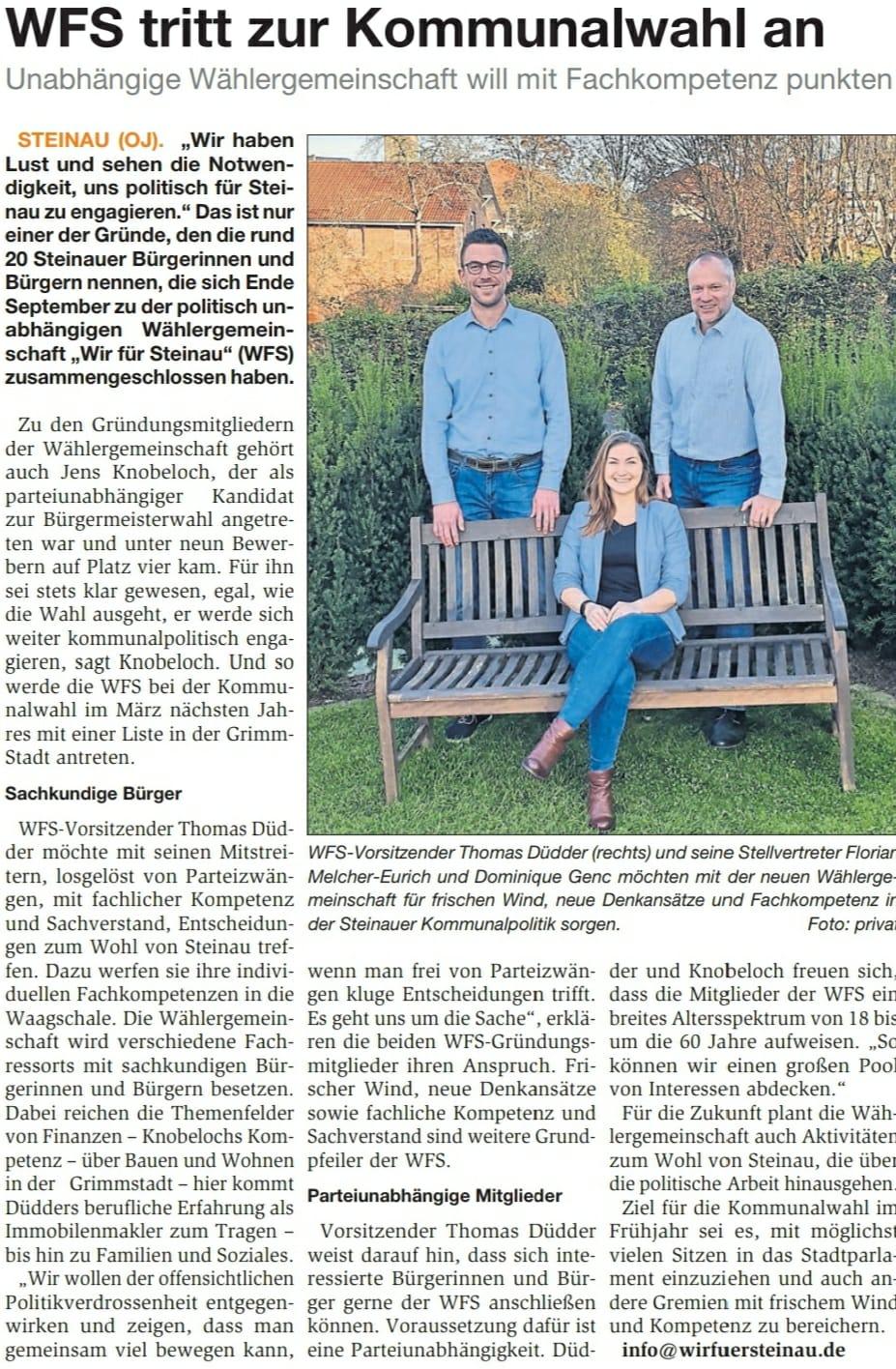 11.04.2021 - Bergwinkel Wochenbote