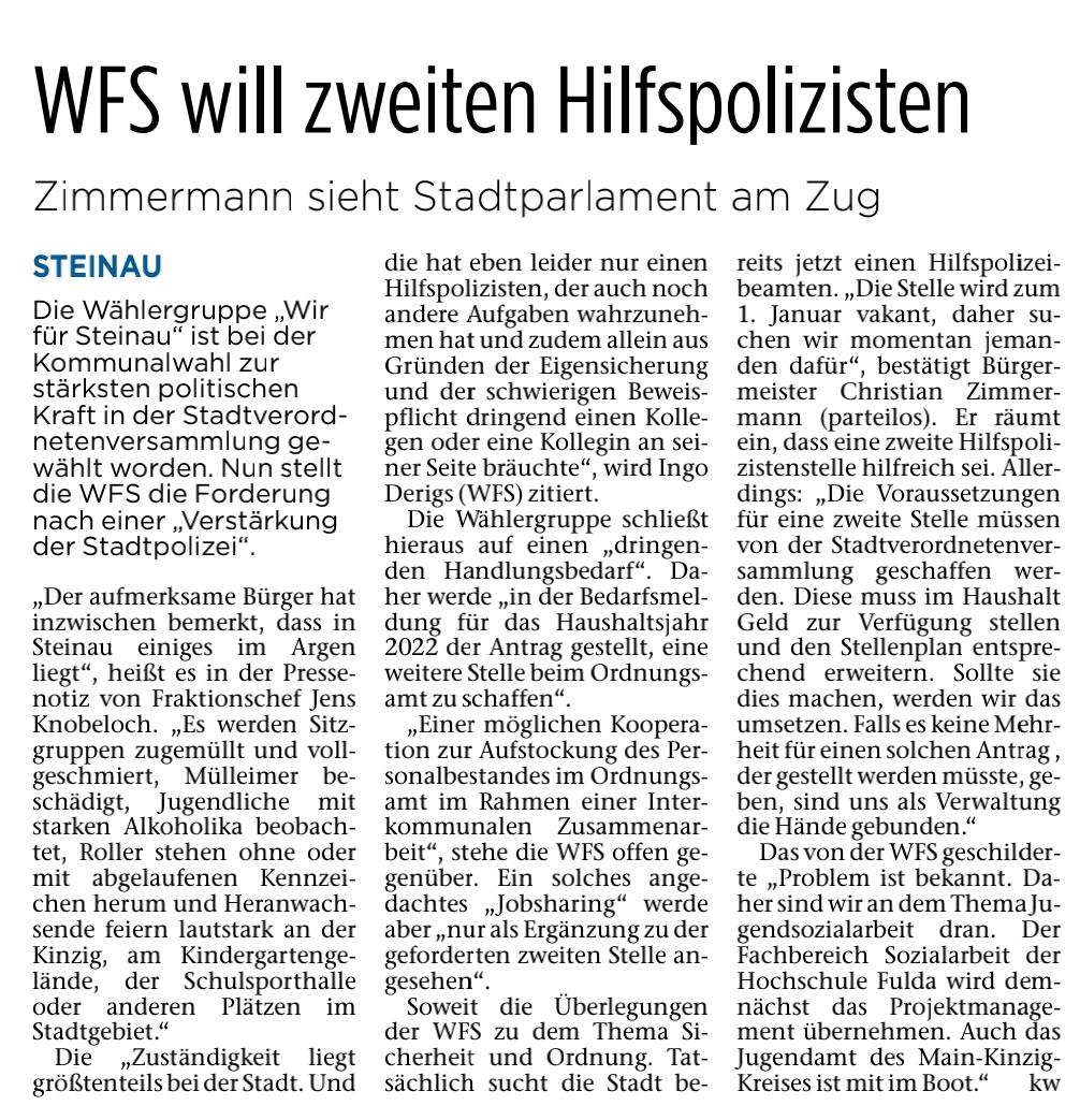 04.09.2021 - Fuldaer Zeitung
