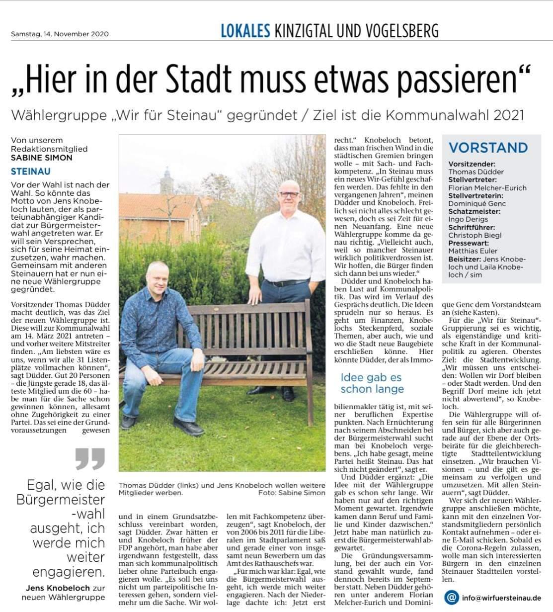 30.03.2021 - Bergwinkel Wochenbote
