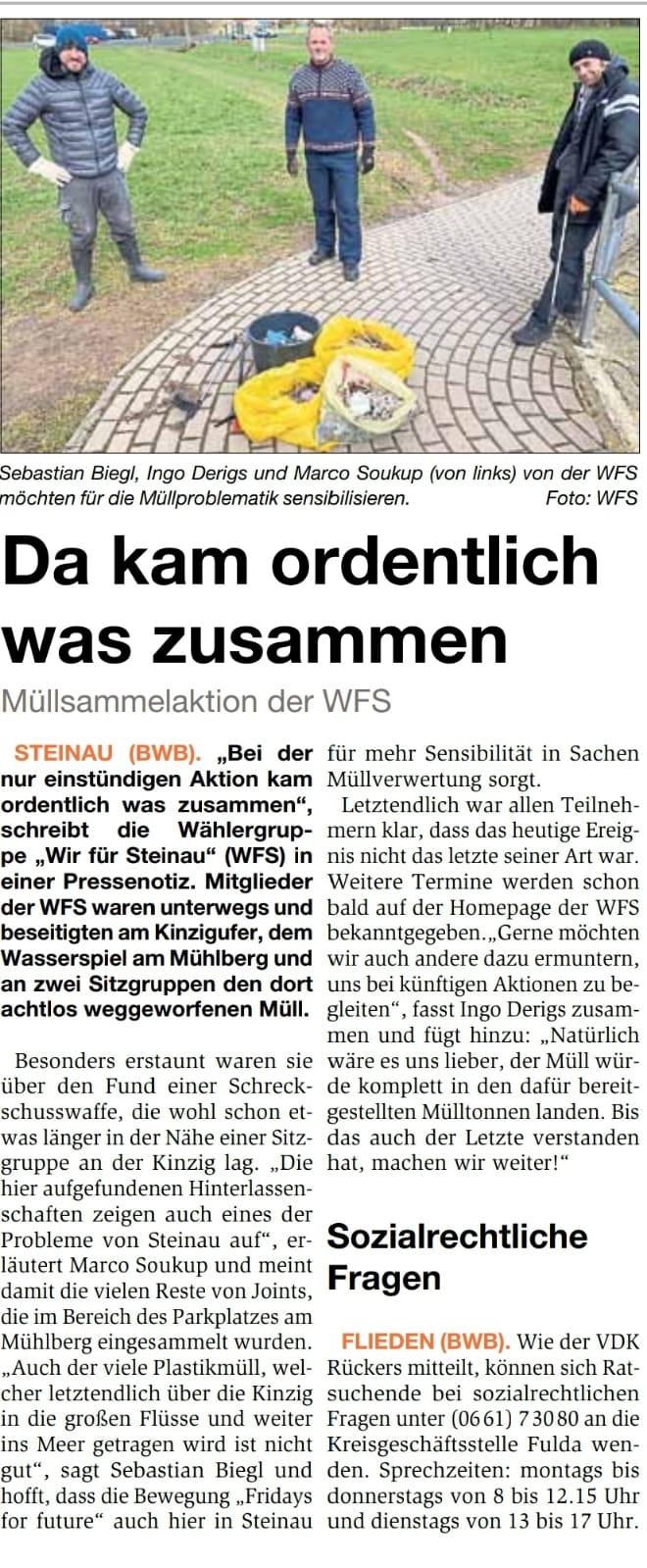 31.03.2021 - Bergwinkel Wochenbote