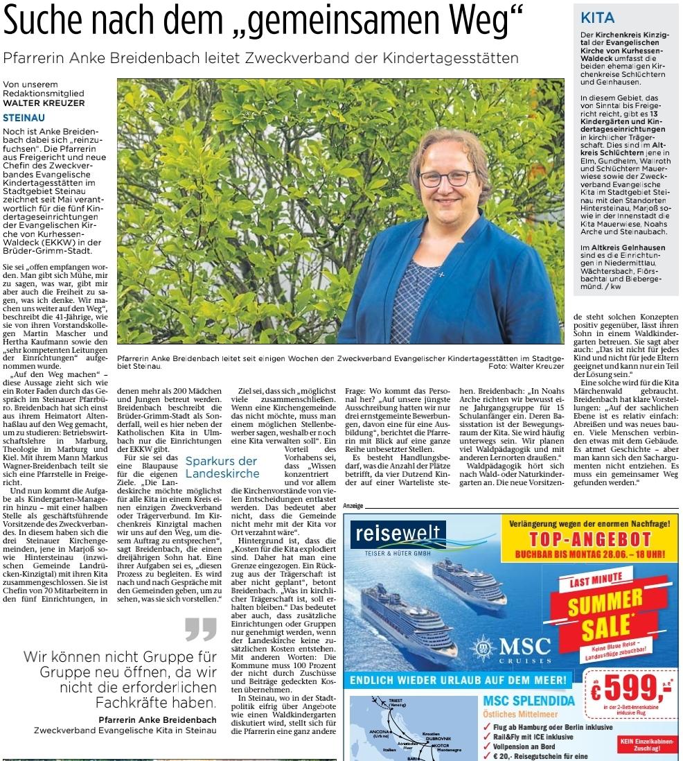 24.06.2021 - Bergwinkel Wochenbote