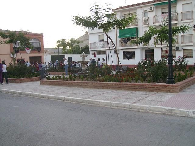 Plaza de Donantes de Sangre de Linares y Torreblascopedro