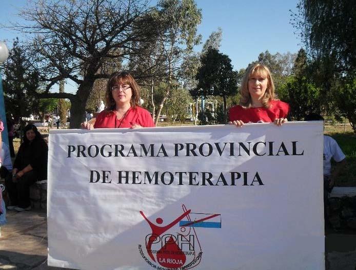 Programa Provincial de Hemoterapia - La Rioja.