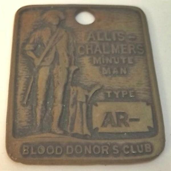 Frente Medalla Club de Donantes de Sangre