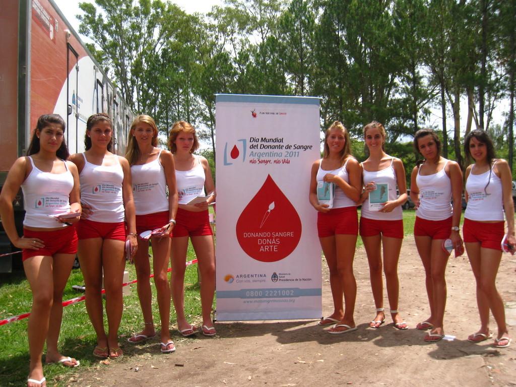 Promotoras de la Hemodonación.
