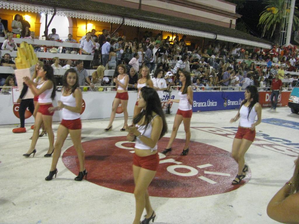 Promoción por el Carnaval de Gualeguaychú.