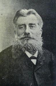"""Maury Arthur (París 1844 - París 1907), el """"Abuelo de la Filatelia"""" y patrocinador de dicha palabra."""