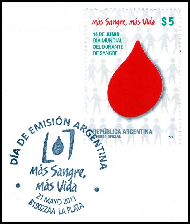 Sede Argentina, 21 de Mayo de 2011, Día Mundial del DONANTE de SANGRE.