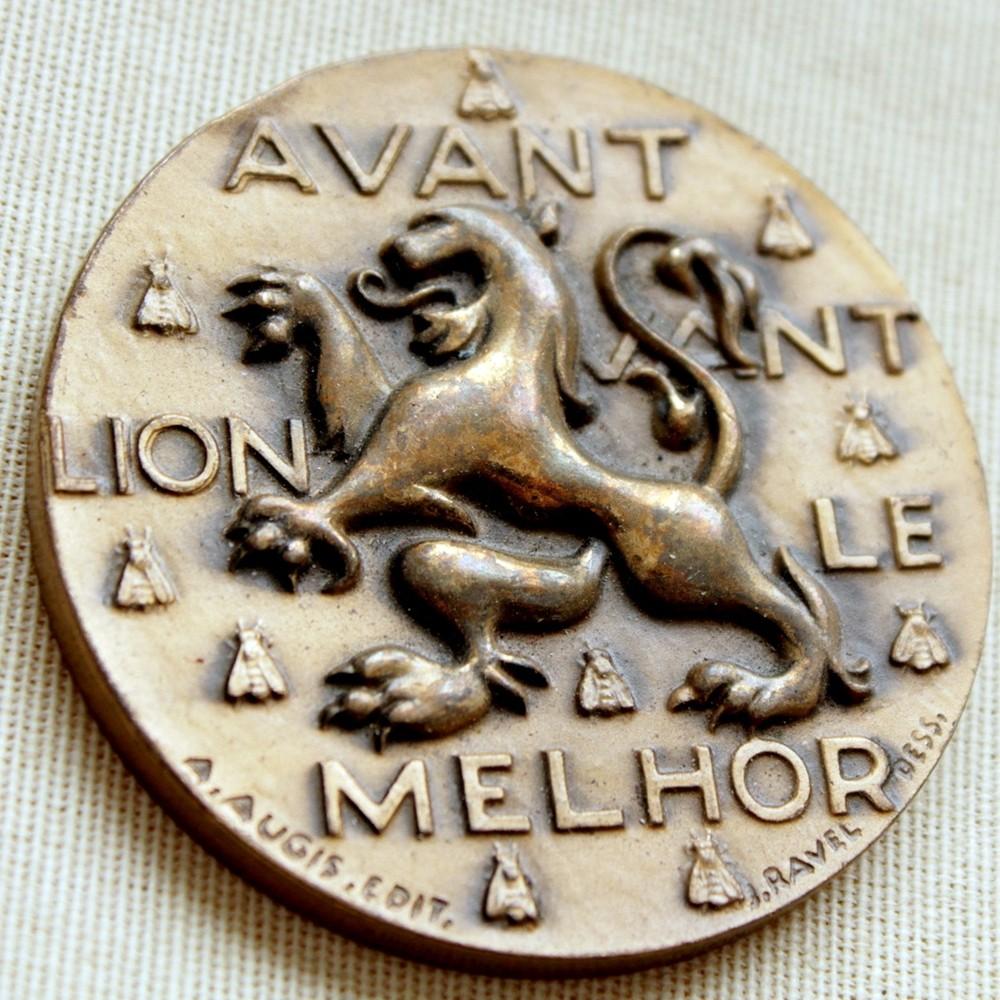 Medalla Instituto Francés por la Donación de Sangre.