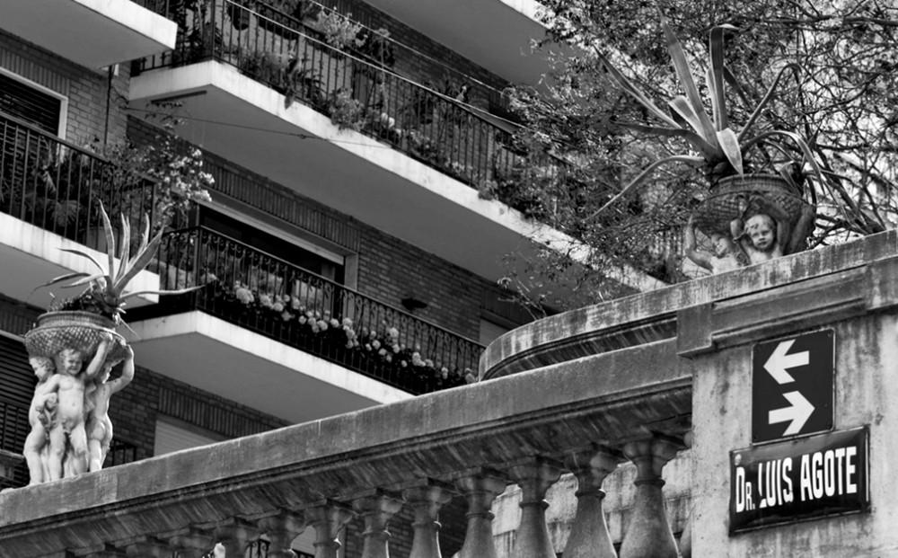 Calle Luis Agote, CABA.
