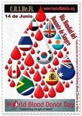 Y conoce como ven la medicina transfusional en todo el Mundo...